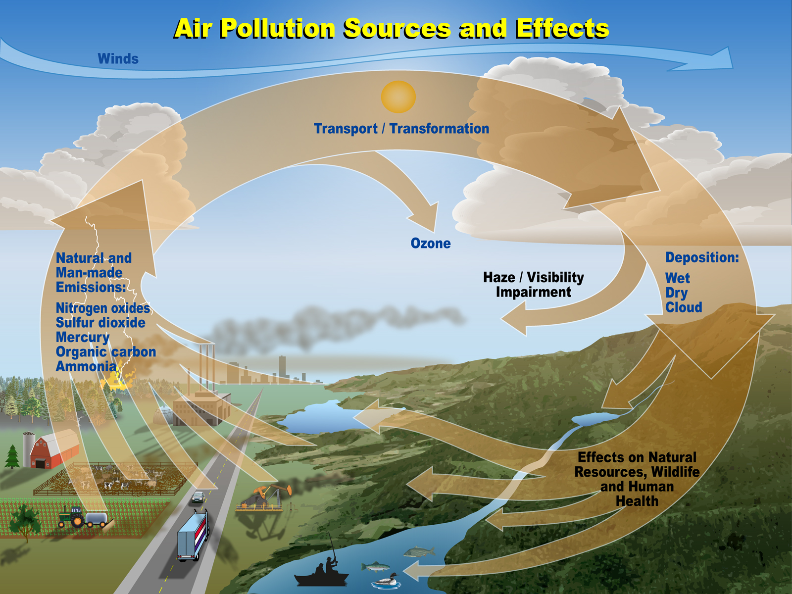 the devastating effects of chemical pollution on the environment The control of chemical pollutants and their effects requires not only more   environmental pollution, especially by chemicals, is one of the most potent  factors in the  normal agricultural practices may avoid the destructive effects of  the.