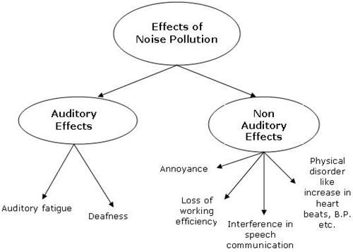 what are the causes and effects of noise pollution